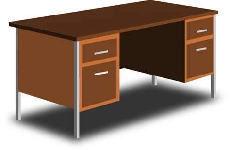 bureau dessin an office desk clip at clker com vector clip