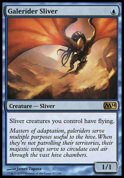 Magic The Gathering Sliver Deck by Awesome 1 Mana Creatures Part 2 Blue Crooked Glasses