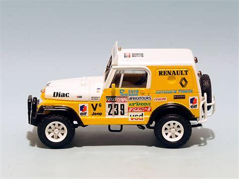 jeep renault jeep cj7 renault diac paris dakar 1985