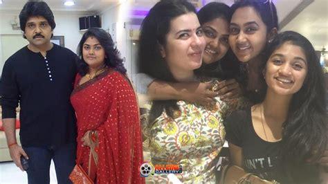 actress kalyani husband actress nirosha family photos husband ramki unseen