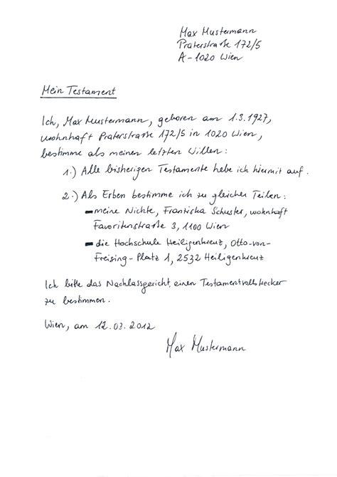 ideen von berliner testament handschriftlich