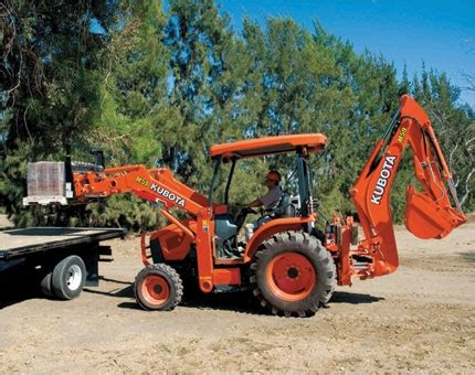 kubota backhoe taylor true  rental  lancaster