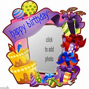Happy Birthday Loonapix Frame - ClipArt Best