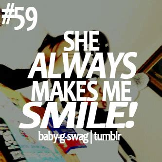 She Makes Me Smile Quotes Tumblr
