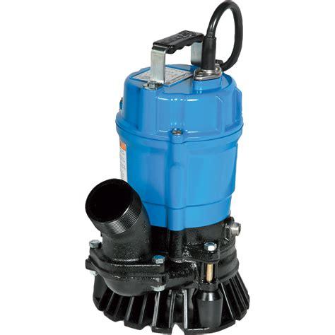 Tsurumi Sandtrash Water Pump — 4200 Gph, 1 Hp, 3in Ports