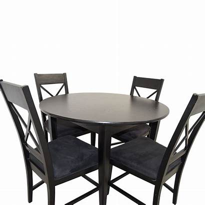 Dining Round Wood Tables Second Hand Sets