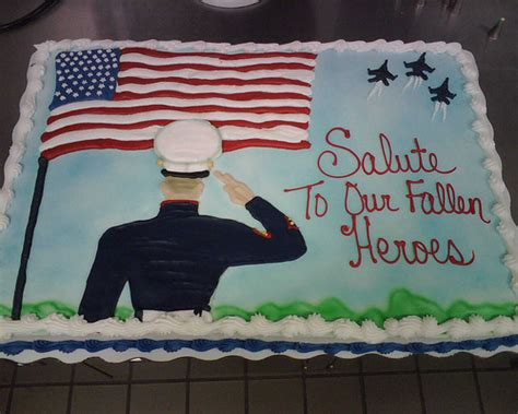 memorial day cakes memorial day cake full sheet marble cake iced in buttercre flickr photo sharing