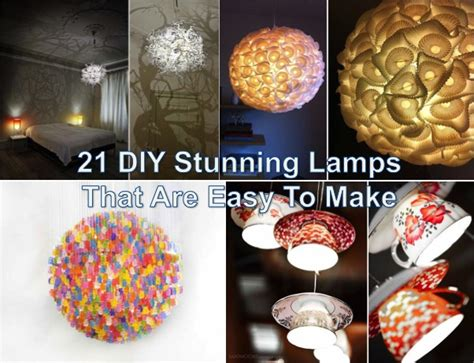 diy stunning lamps   easy   find fun art