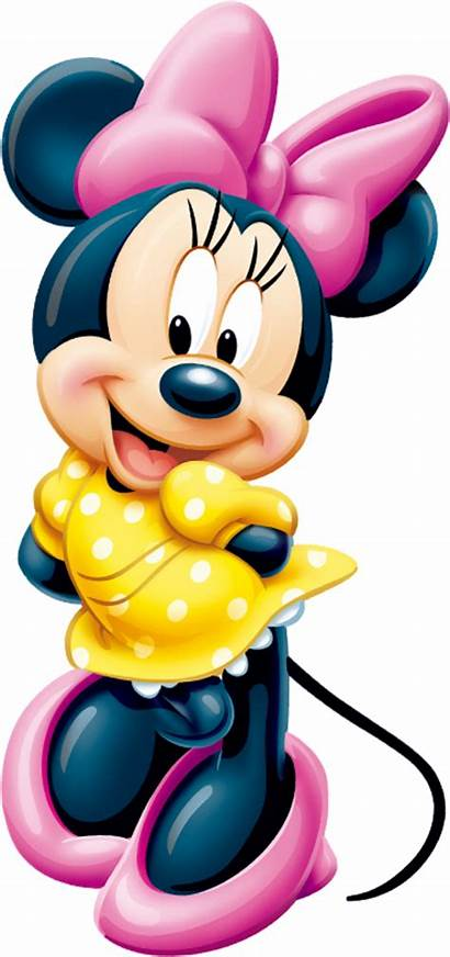 Minnie Mouse Disney Mickey Yellow Daisy Clipart