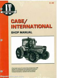 Case International 7110 7120 7130 7140 Tractor Workshop