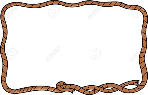 Rope Border Clipart Rodeo Clipart Rope Border Frames Illustrations Hd