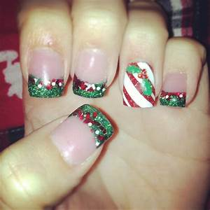 Candy cane nail designs hair styles