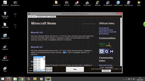 descargar gratis minecraft 1.8 team extreme launcher mega