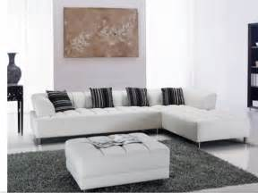 leather livingroom furniture white modern sectional sofas for your living room