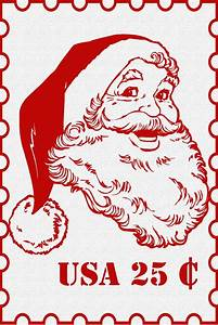 christmas clipart postage stamp pencil and in color With christmas letter stamp