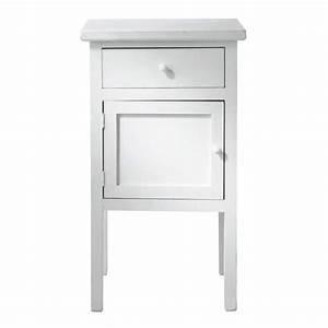 Chevet Maison Du Monde : chevet blanc gustave maisons du monde ~ Teatrodelosmanantiales.com Idées de Décoration