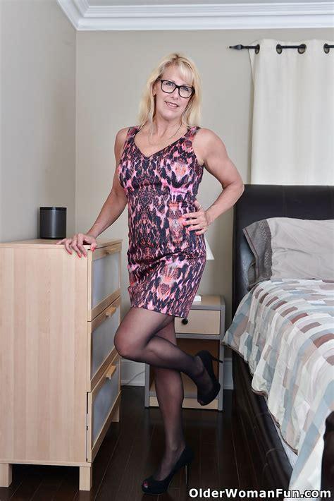 54 Year Old Canadian Milf Bianca From Olderwomanfun 16