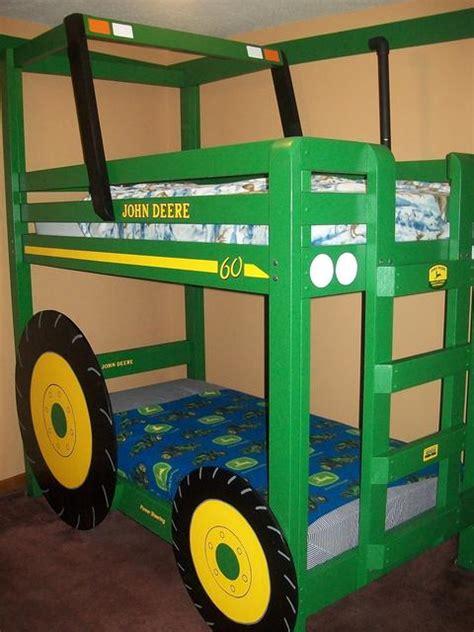 Shaun Bennett's Tractor Bunk Bed