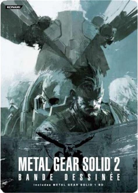 Metal Gear Solid 2 Bande Dessinée Metal Gear Wiki