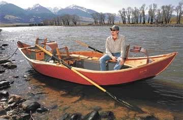 Drift Boat Makers by Livingston Drift Boat Maker Carves A Niche By Focusing On