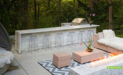 designing a kitchen island with seating 23 creative outdoor bar design ideas