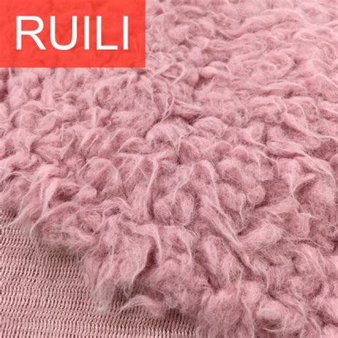 shaggy plush fur fabric manufacturers  suppliers china
