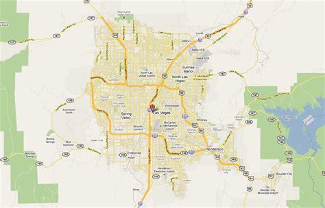 map  las vegas   las vegas las vegas map