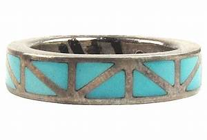 zuni turquoise inlay ring With zuni wedding rings
