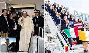 American Airlines crew open up about piloting Pope Francis ...