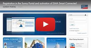Sunny Portal Sma : how to register your pv system in sunny portal and activate sma smart connected sunny the sma ~ Frokenaadalensverden.com Haus und Dekorationen