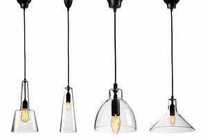 Luminaire Suspension Verre Design
