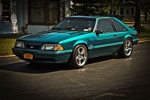 few shots of one of my cars.. my '93 Mustang LX
