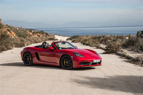Pure Sport 2018 Porsche 718 Boxster Gts And 718 Cayman