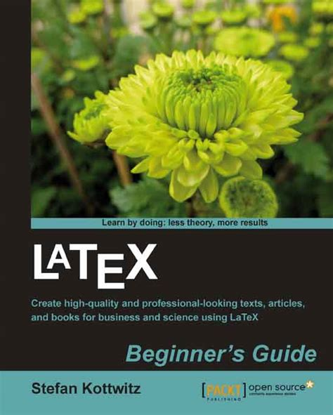 latex book beginner s guide packt books