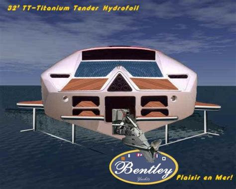 Hydrofoil Yacht Design by Bentley Yachts Hydrofoil Designs By John F Rodrigues