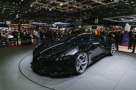 geneva  bugatti la voiture noire