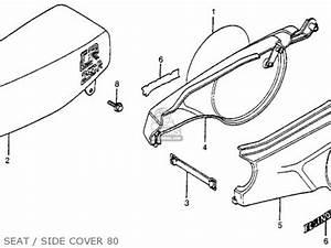 honda cr250r elsinore 1980 a usa parts list partsmanual With 1980 honda cr v
