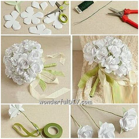 wonderful diy beautiful flower bouquet