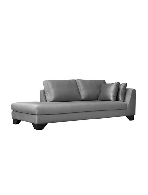 chaise longue 200 cm dune 245 cr cm chaise longue upholstery without fabric with two 60 50 cushions brown