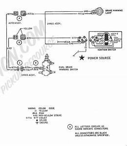 Disc Brake P-valve Warning Light