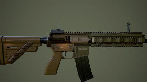 HK416 A5   CGTrader