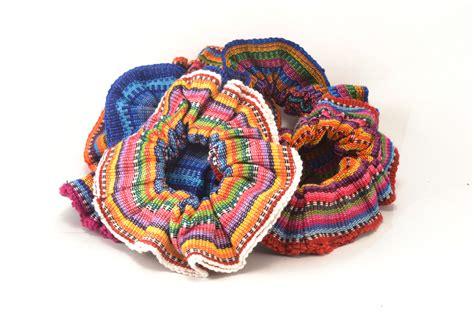 scrunchies accessories handmade guatemalan imports