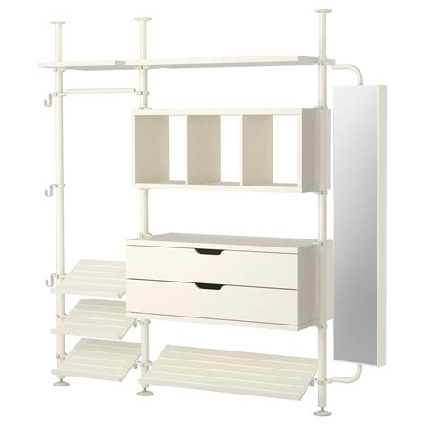 room planner ikea with white fitted wardrobes