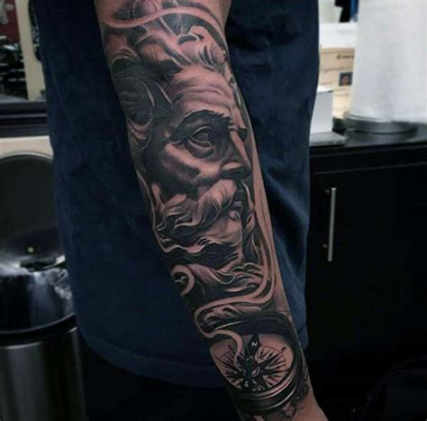 badass forearm tattoos  men cool masculine design