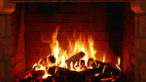 crackling fireplace   english  english