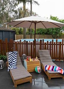 Diy Umbrella Stand    Or A Drinks Table