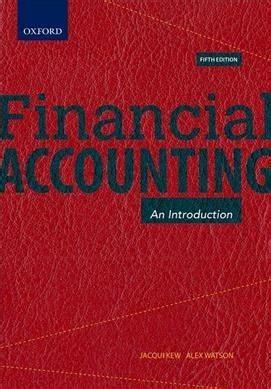 Financial Accounting - Alex Watson (Paperback) - Books ...