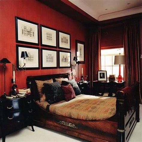 mens bedroom wall colors bedroom best bedroom colors for men bedroom colors for men red walls and wooden bed and