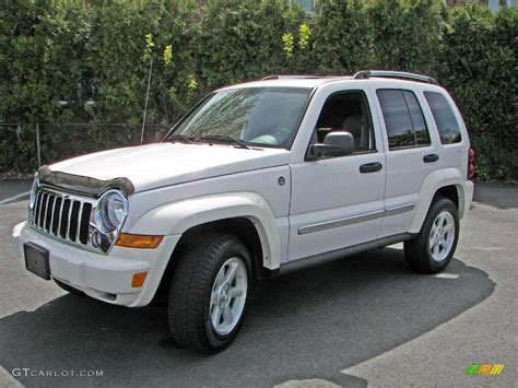 jeep liberty white 2006 stone white jeep liberty limited 4x4 10496557