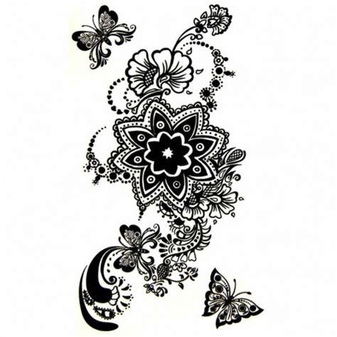 tatouage temporaire feminin en dentelle